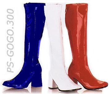 Blue Gogo Boots